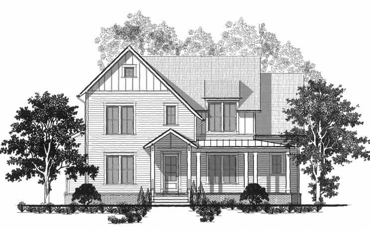 The Saundersville Plan by Celebration Homes.