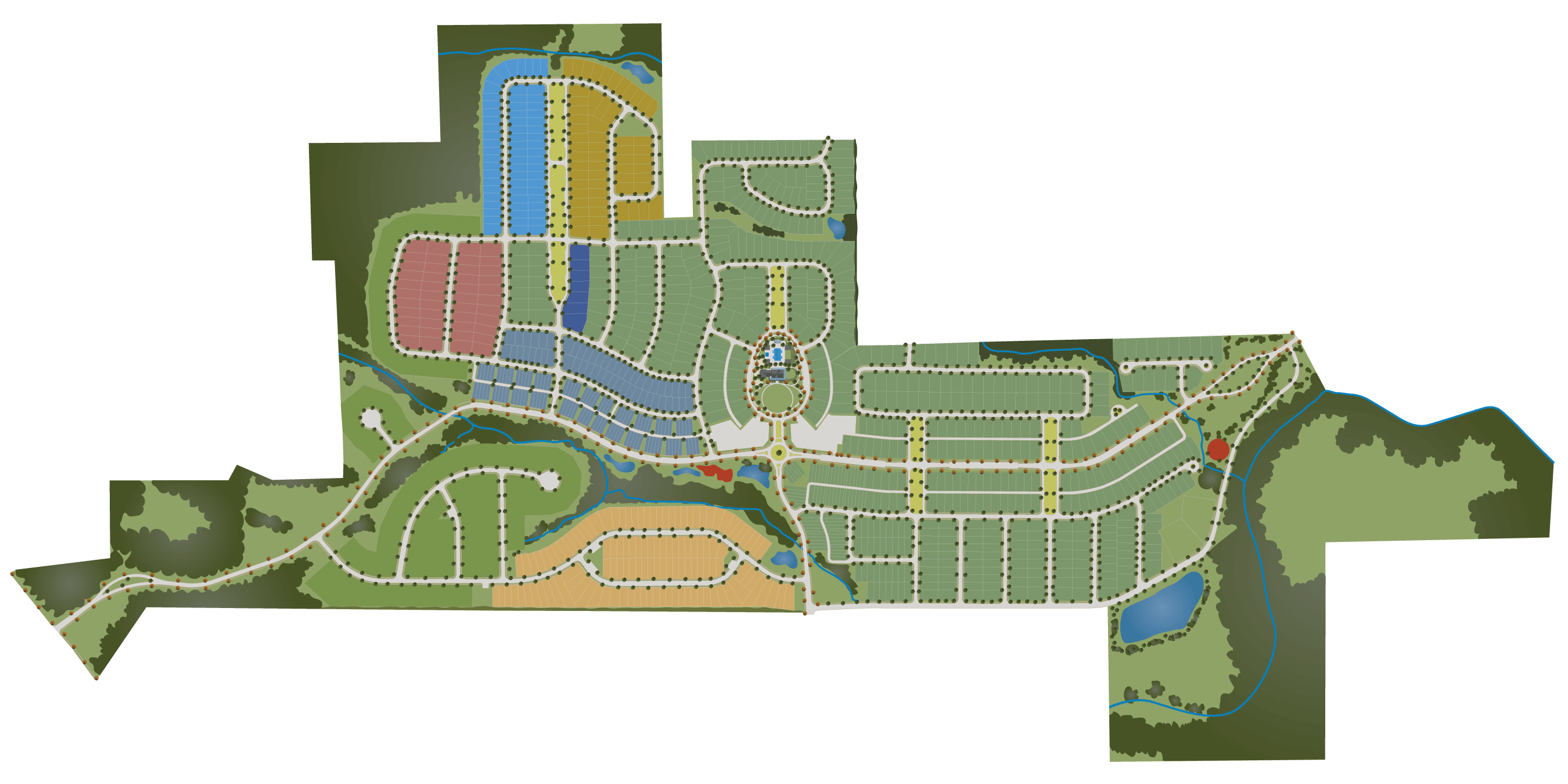 Durham Farms Neighborhood Map Hendersonville, TN
