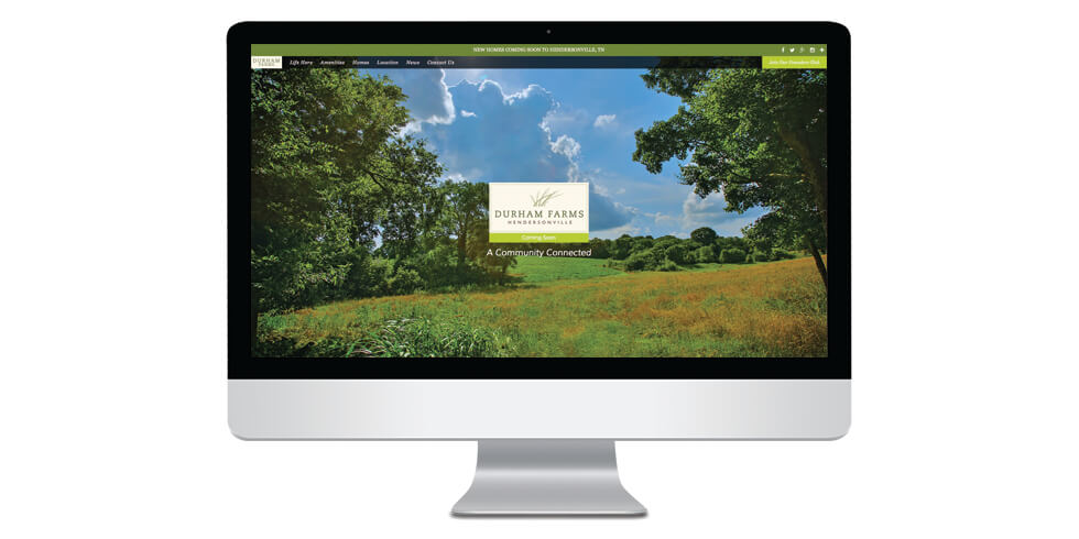 New Durham Farms Website is Live!