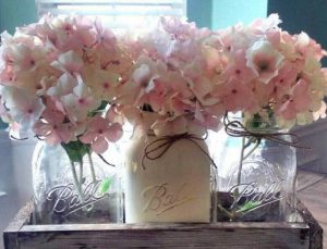 5 do it yourself spring projects for the whole family durham farms 2 mason jar centerpiece solutioingenieria Images