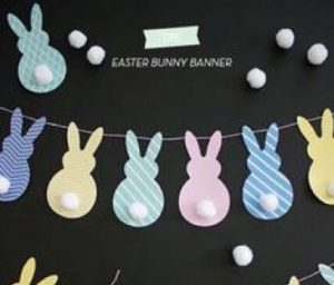 5 do it yourself spring projects for the whole family freehold 3 easter bunny banner solutioingenieria Images