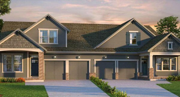Villas starting in the high $200,000's by David Weekley Homes