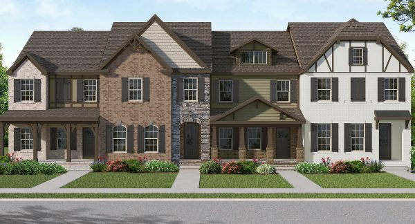 Townhomes by Goodall Homes - Durham Farms New Homes for Sale in Hendersonville, TN