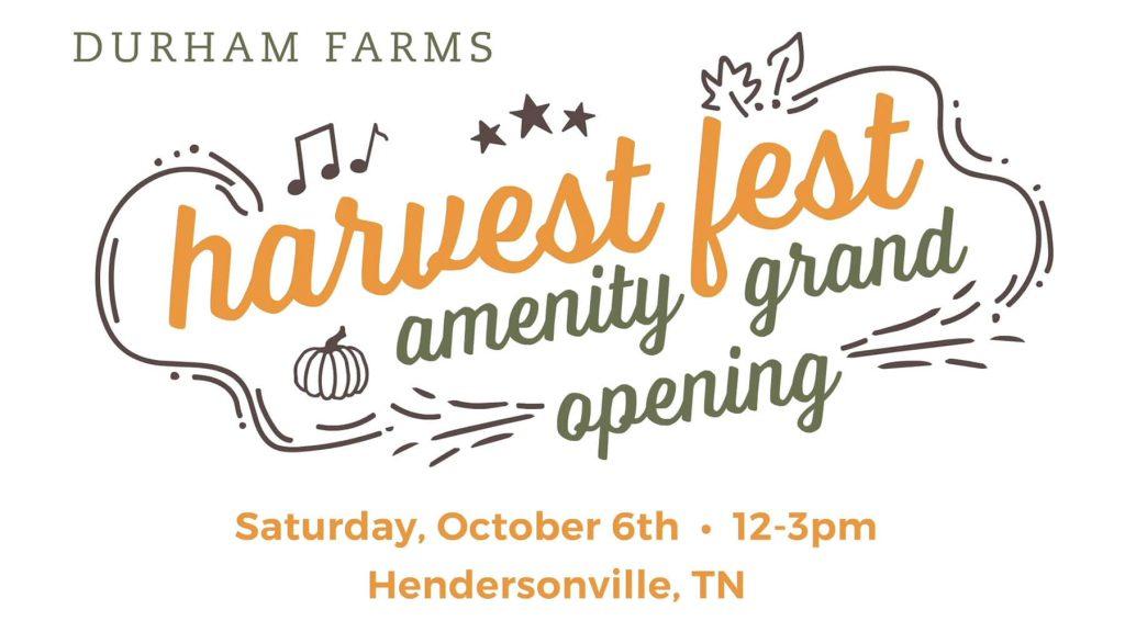 Harvest Fest & Grand Opening of The Farmhouse