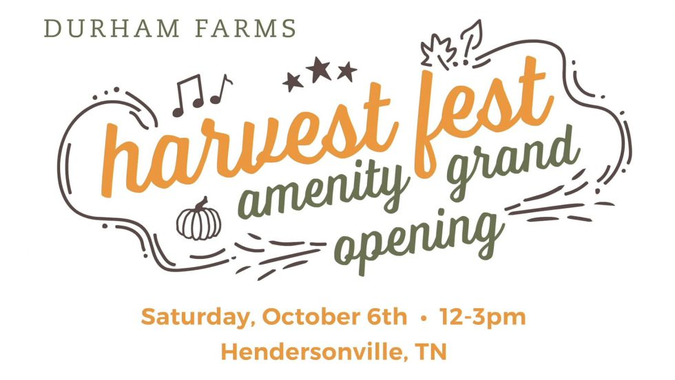 Harvest Fest & Grand Opening of The Farmhouse