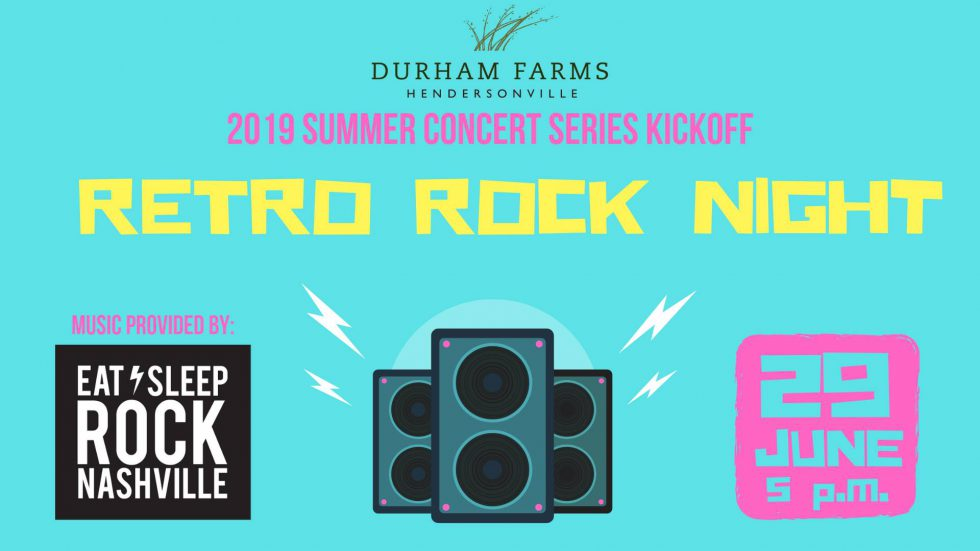 Summer Concert Series: Retro Rock Night
