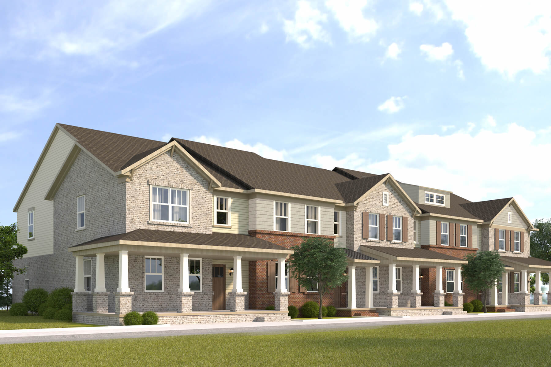 Luxury Villas and Townhomes for Lease by 360 Communities - Durham Farms New Homes for Sale in Hendersonville, TN
