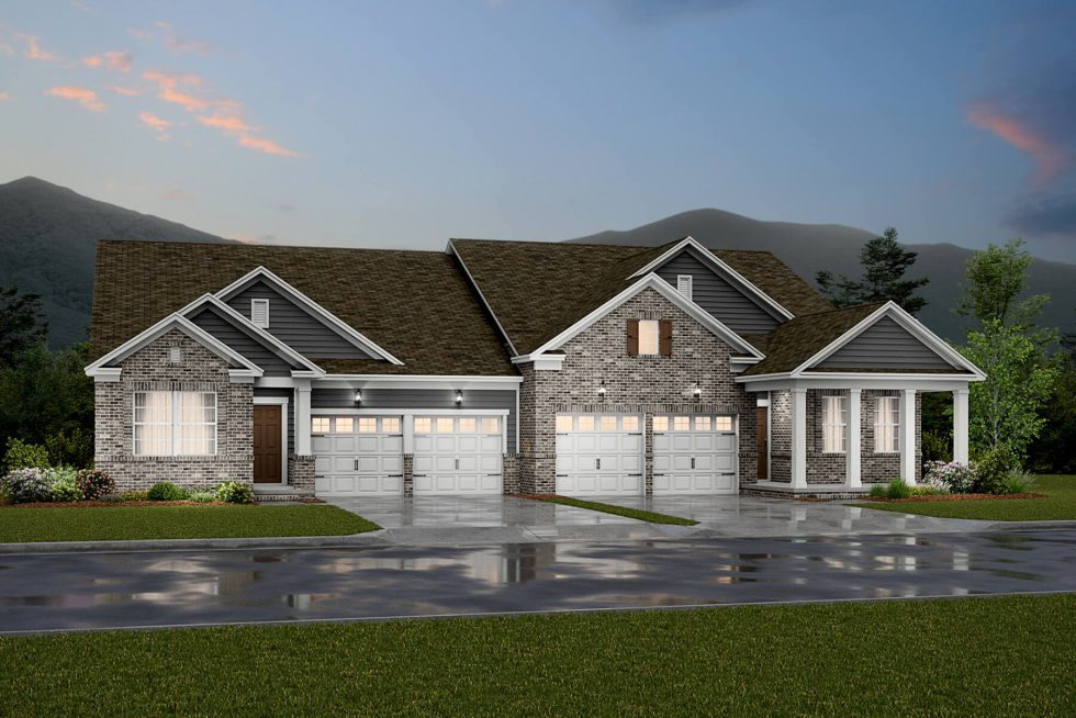 Lennar Introduces the Estate Villas, a Collection of Low Maintenance, Paired Residences at Durham Farms