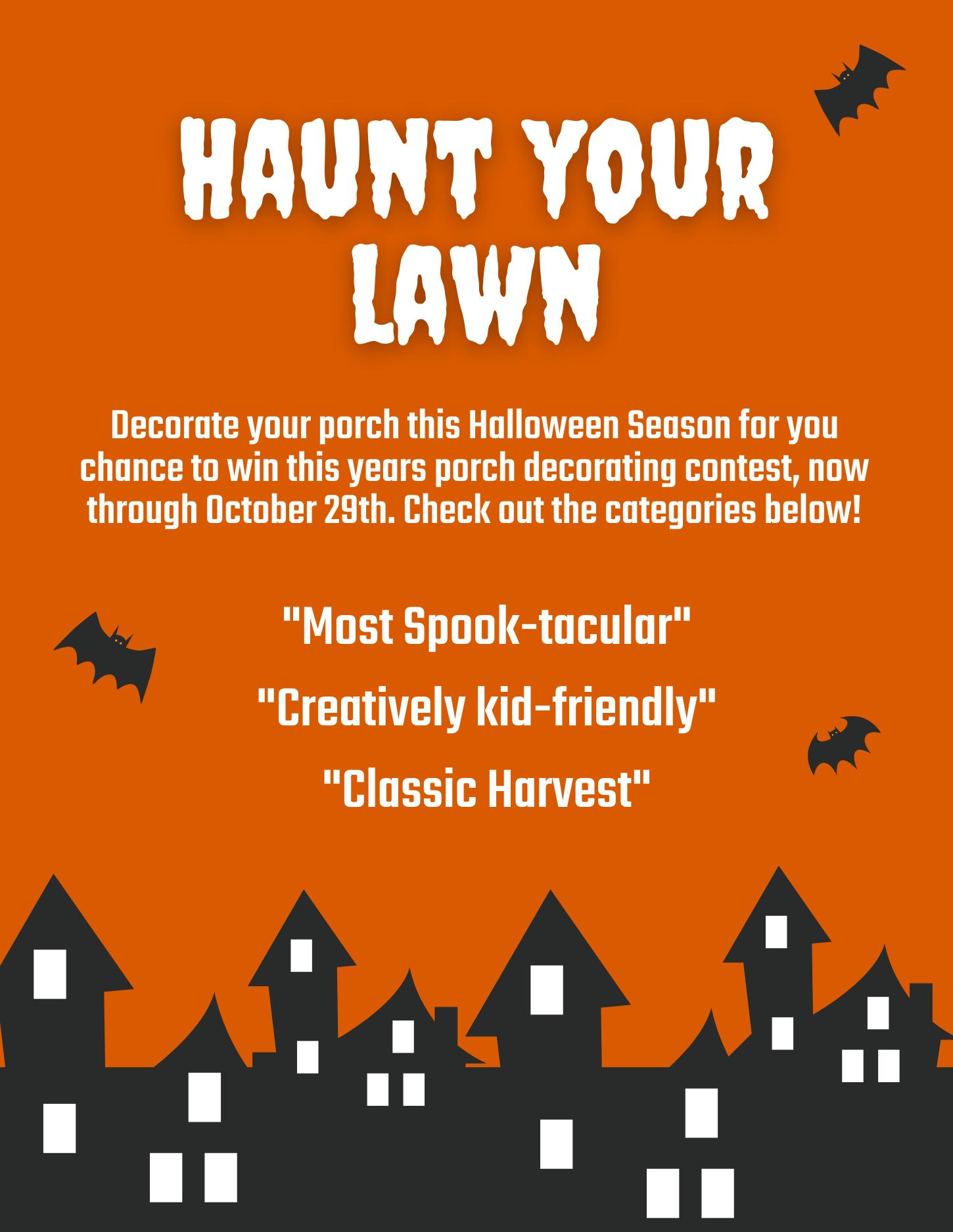 Haunt Your Lawn